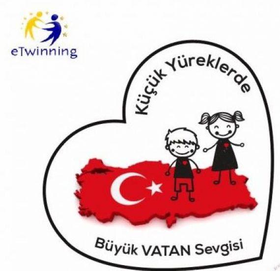 Royalty Free Kucuk Turk Bayragi Boyama En Iyi Boyama Cocuk Kitabi