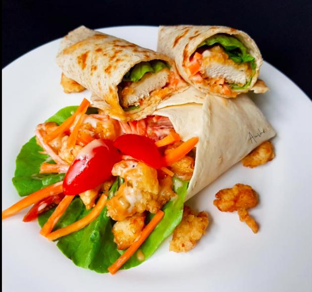 Resepi Tortilla Wrap Mudah Sedap Sesuai Untuk Anda Yang Nak Diet Media Hiburan Gosip Artis