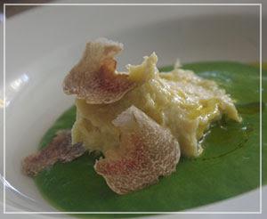 富里「Cucina Tokionese Cozima」にて、鱈のペースト&白トリュフ♪