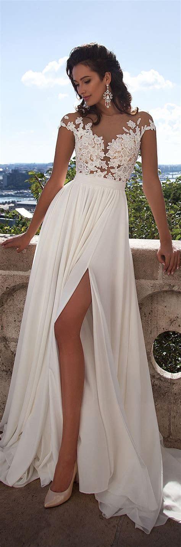 Best 25  Chiffon wedding dresses ideas only on Pinterest