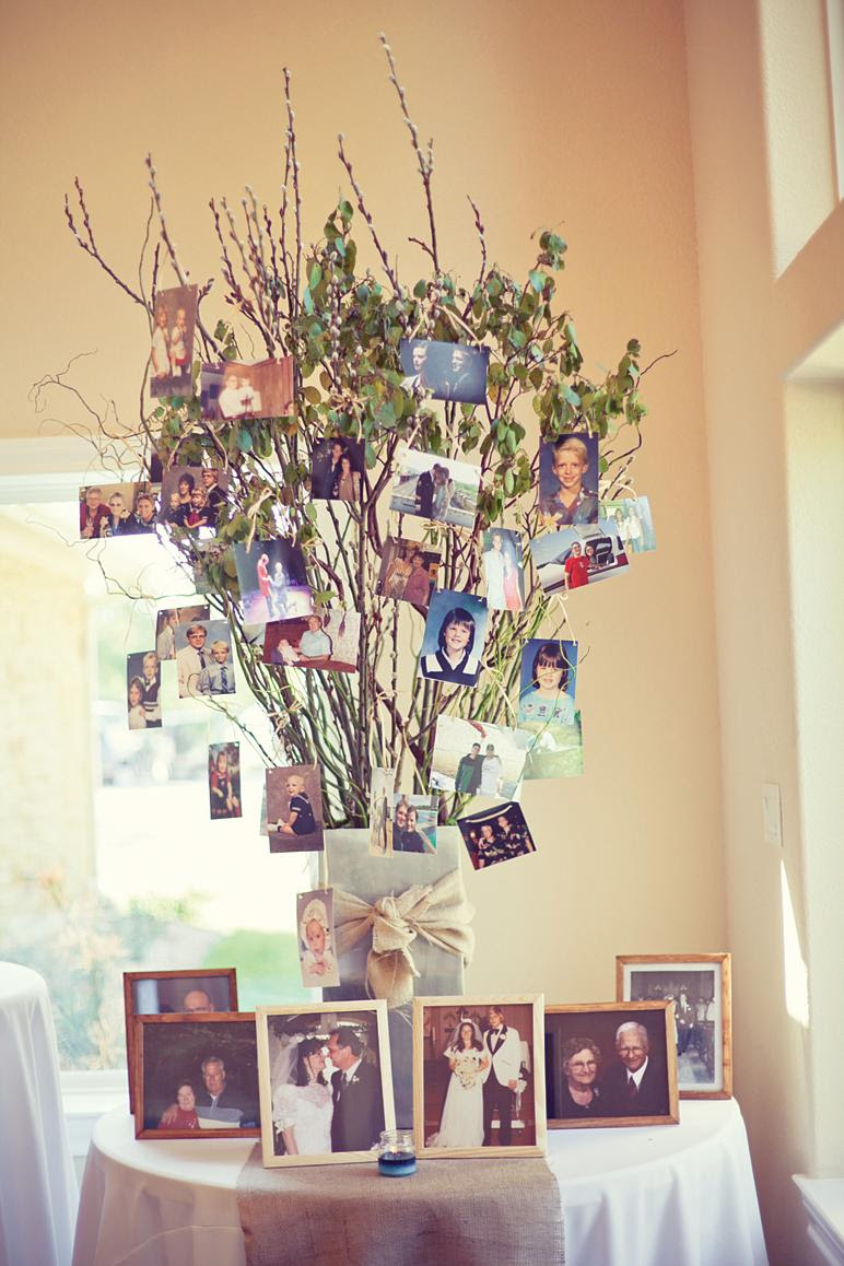 26 Creative Diy Photo Display Wedding Decor Ideas Tulle Chantilly Wedding Blog