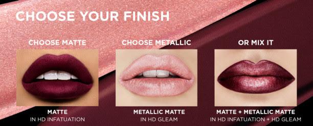 REVLON® Ultra HD Matte Lipcolor™ Metallic
