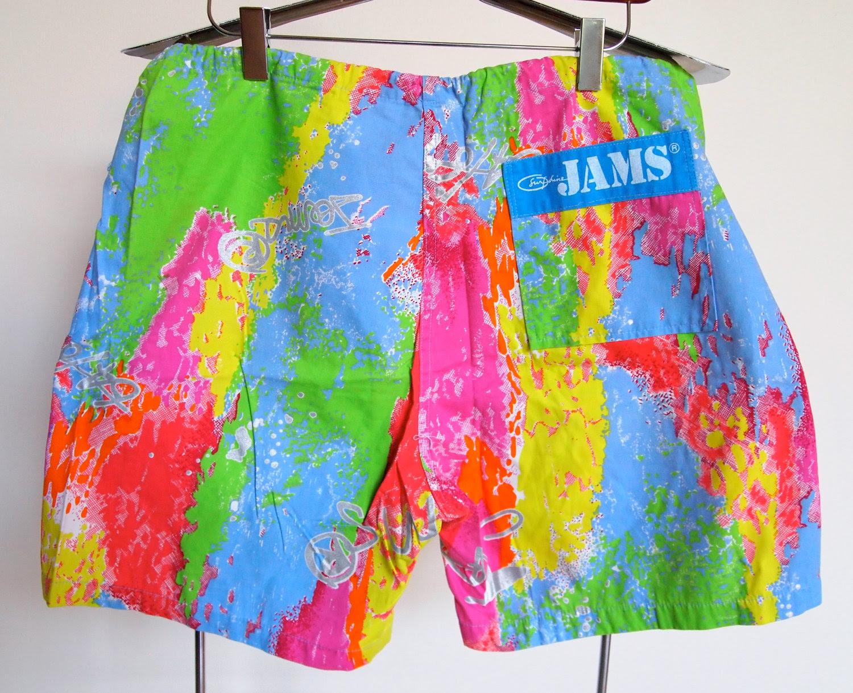 I Love The 80s Ladies Shorts