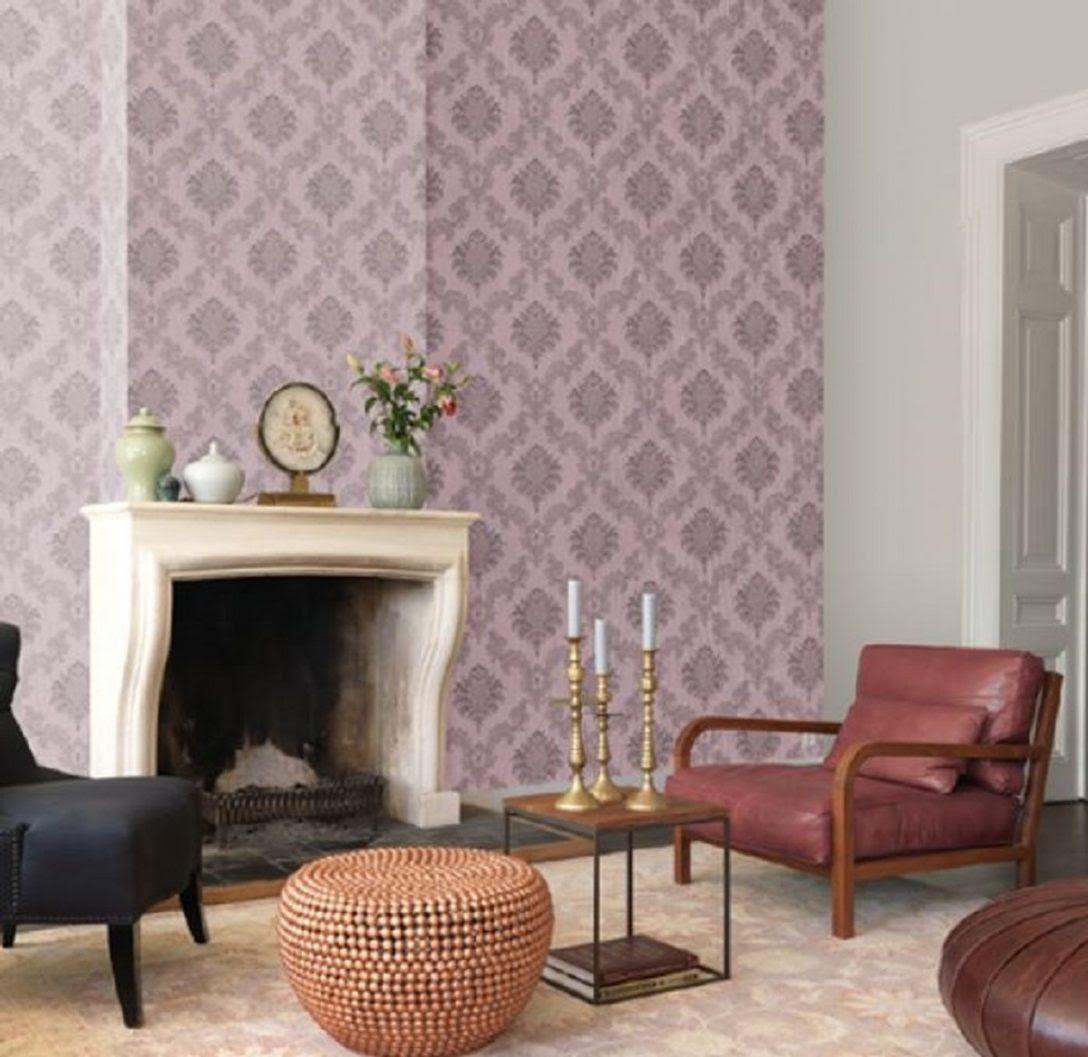wie wohnzimmer tapezieren tapeten ideen modern tapete weiß