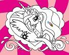 Prenses Celestia Boyama Oyunu Oyna Boyama Oyunları