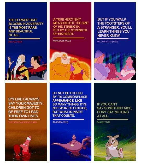 Popular Quotes From Disney Movies. QuotesGram