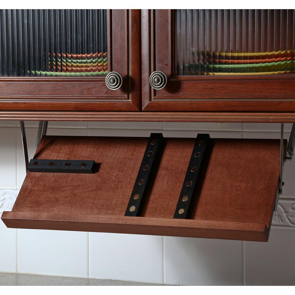 Under Cabinet Knife Rack Design For Home