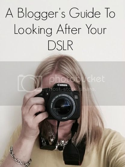 Bloggers guide to looking after your DSLR