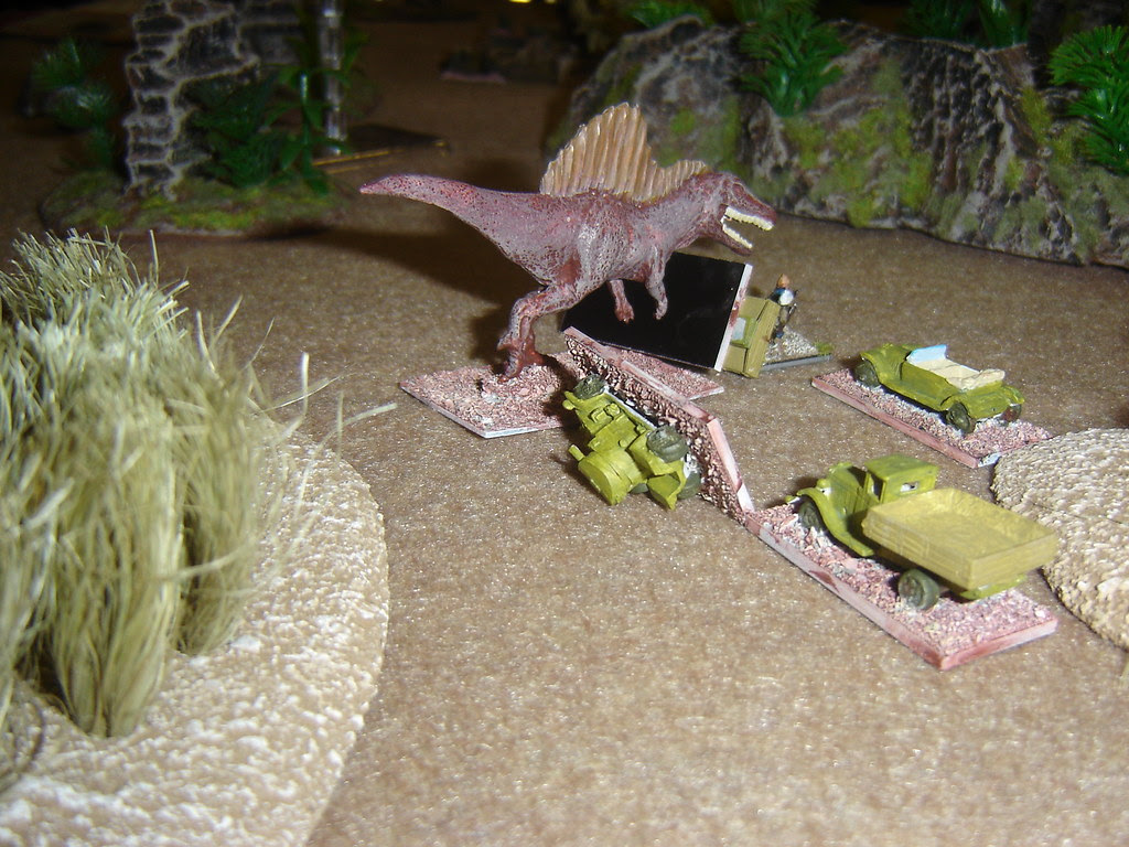 Spinosaur wreaks havoc on the column