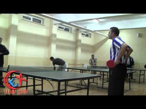 Bozkır Öğretmen Evi Masa Tenisi Turnuvası Maçlarından Görünümler 01.11.2012