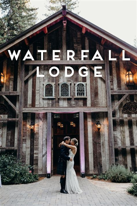 Waterfall Lodge and Retreat Weddings in Ben Lomond