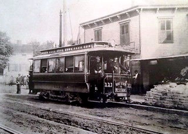 West Farms trolley car