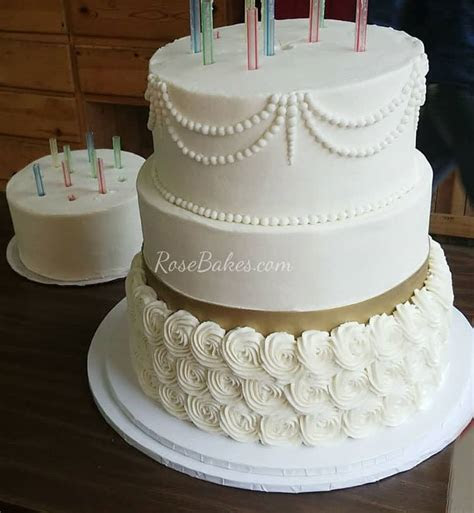 The 6 tier buttercream wedding cake that wasn't meant to