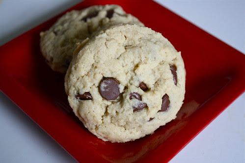 Cream Cheese Choc Chip Cookies