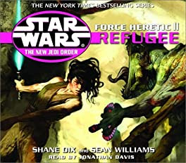 "Cover of ""Force Heretic II: Refugee (Star..."
