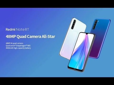 Redmi Note 8T O Que Vem Dentro Da Caixinha