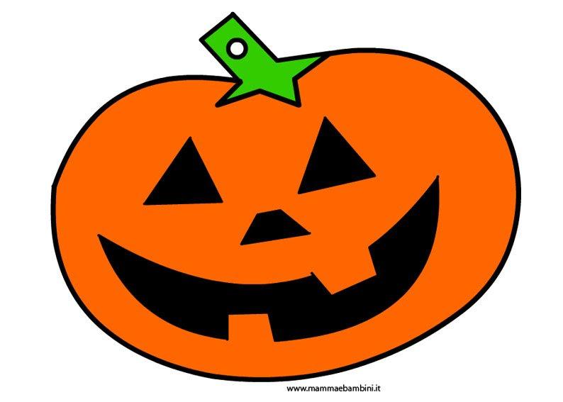 Immagine Zucca Halloween Da Stampare Mamma E Bambini