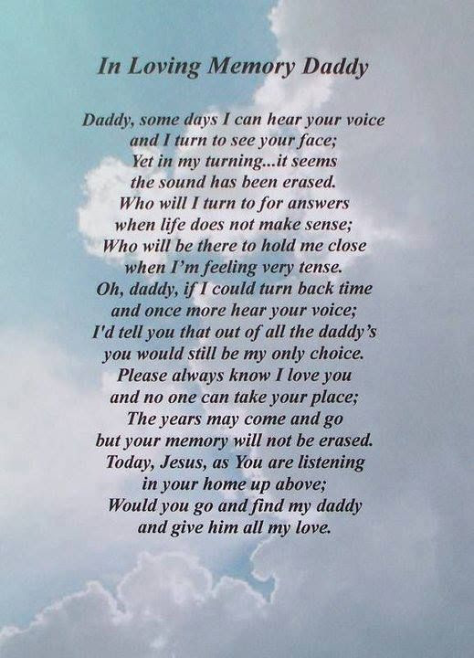 In Loving Memory Daddy Pictures Photos And Images For Facebook