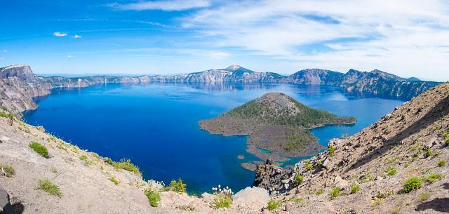 Crater Lake, OR panorama