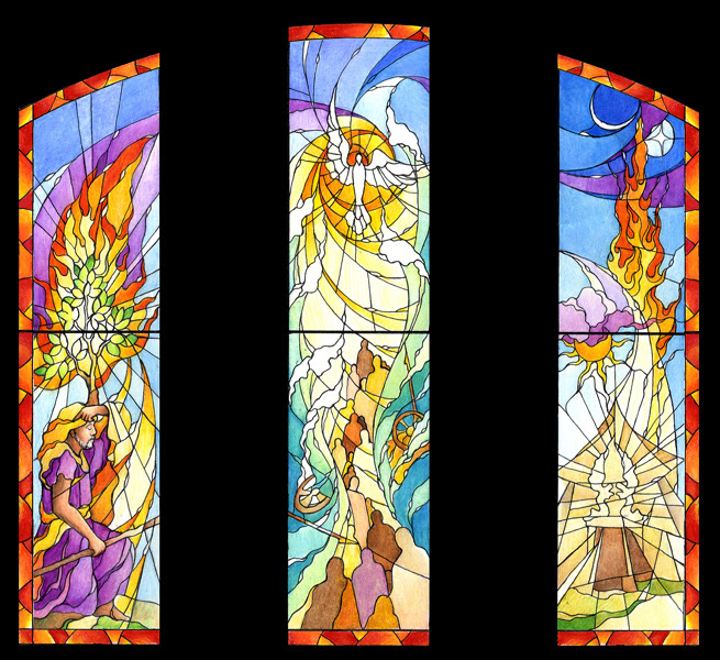 Religious Stained Glass Church Windows Lynchburg Stained Glass