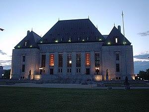 Supreme Court of Canada, Ottawa, Canada.