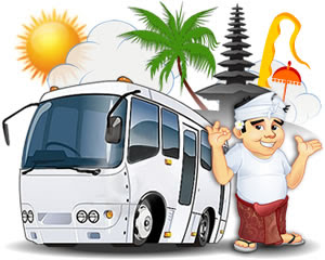 Image result for tour in bali bali cartoon