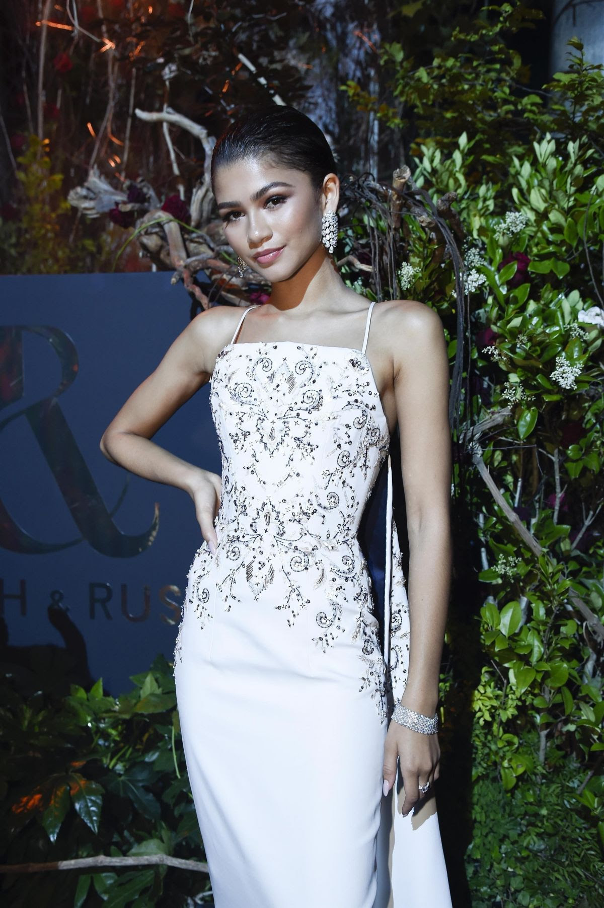 ZENDAYA at Ralph and Russo Show Party in Paris 07/03/2017