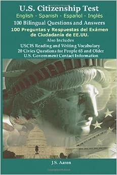 *U.S.Citizenship Test (English and Spanish - Español y ...