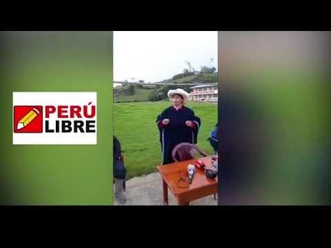 PEDRO CASTILLO, Mensaje al Perú y a los Candidatos | Pedro DIGNIDAD !