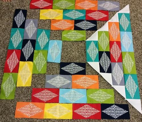 Accuquilt Pezzy Print Quilt