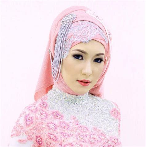 Beautiful Wedding Hijab Tutorials   HijabiWorld