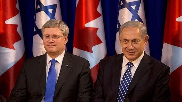 Harper's address to the Israeli parliament