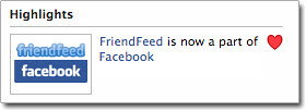 Friendfeed & Facebook by Dekuwa.