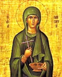 Sainte Parascève de Rome, martyre (2ème s.)