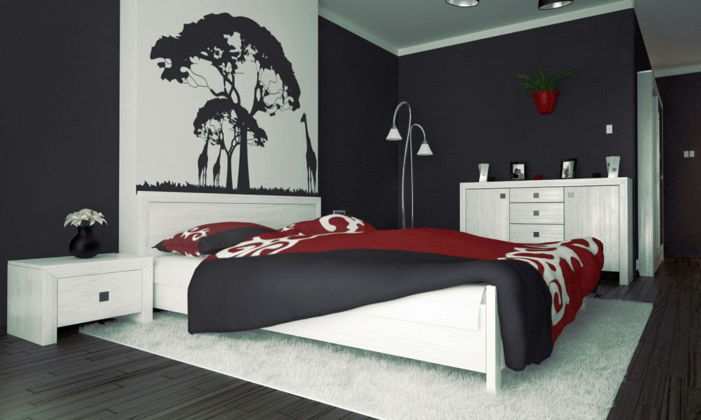 Red And Black Bedroom Ideas Home Design Ideas