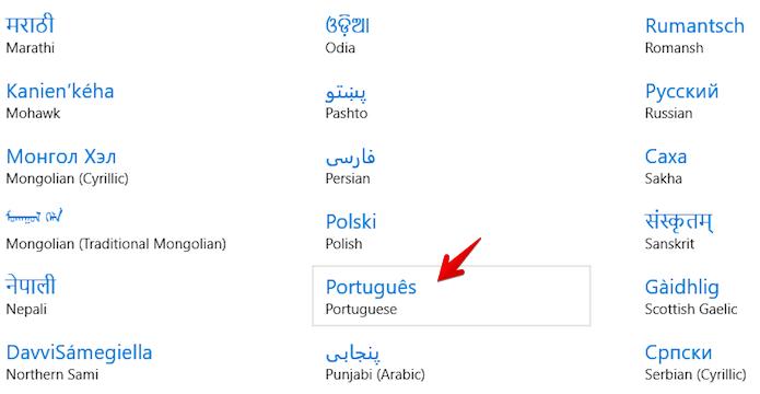 Adicionando novo idioma (Foto: Reprodução/Helito Bijora)