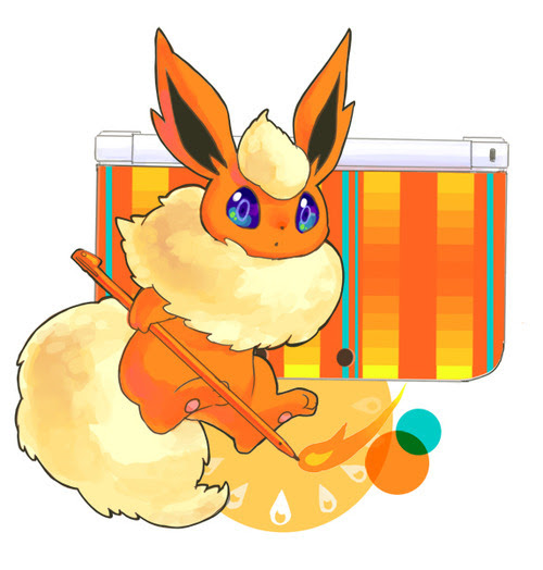 amischiefofmice:  kawaii-nihon:  DS-Eevee's  The beautiful colors. The happy faces. The joy and fun. We could all use something to make us feel happier and more relaxed.