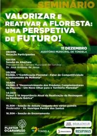"""Seminário """"Valorizar e Reativar a Floresta: uma Perspetiva de Futuro!"""""""