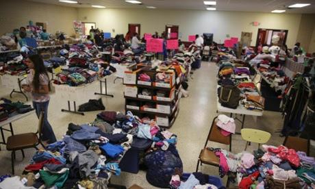migrant texas detention center temporary shelter undocumented mgirant children