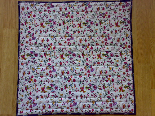 August doll quilt challenge (back)