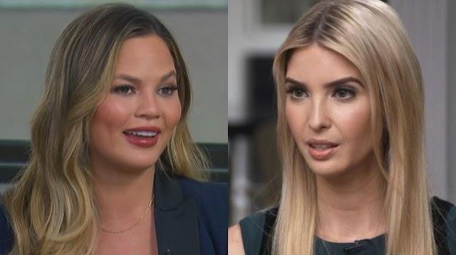 Model Chrissy Teigen Launches Vile Attack On Ivanka Trump Amid Coronavirus Pandemic