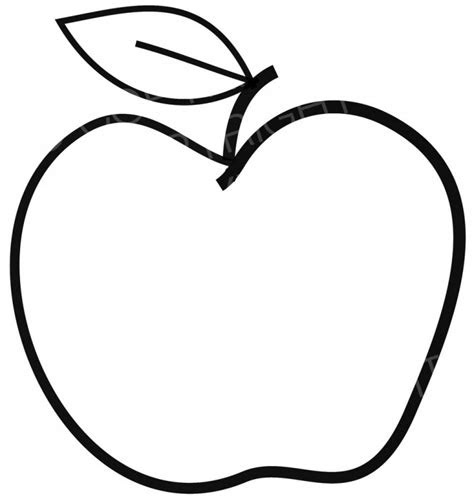 clipart apple  drawing prawny clipart