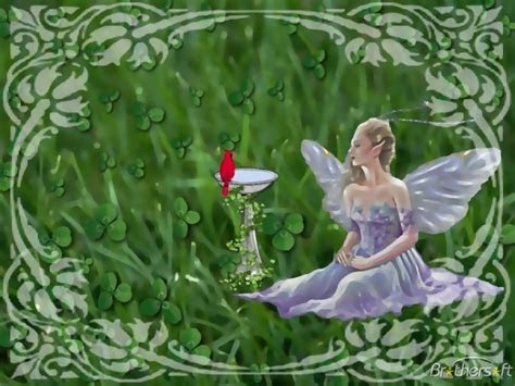 irish fairy wallpaper  computers wallpapersafari