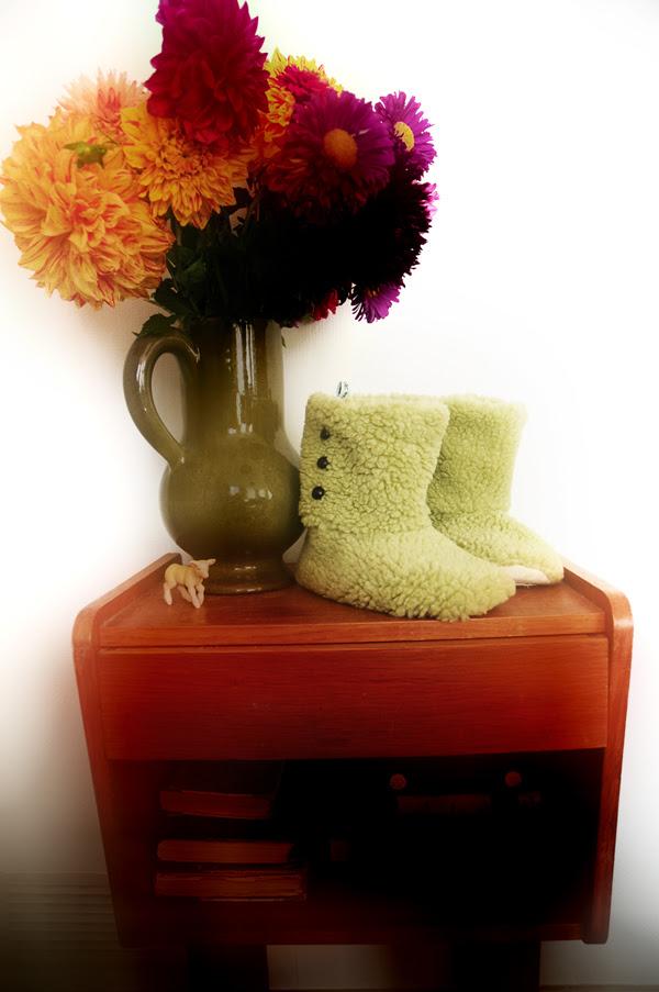 green sweet little boots0