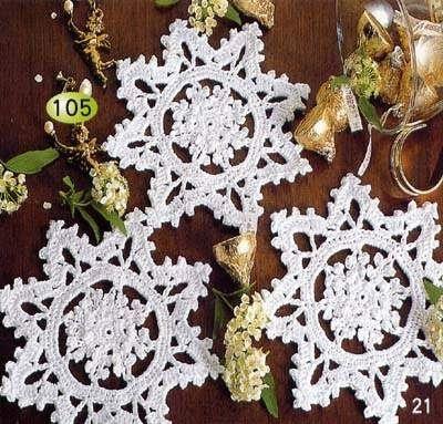 Etoiles De Noël Modèle Gratuit Au Crochet Le Blog De