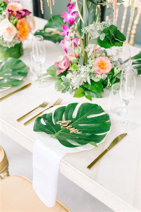 221 best :: TROPICAL WEDDING :: images on Pinterest