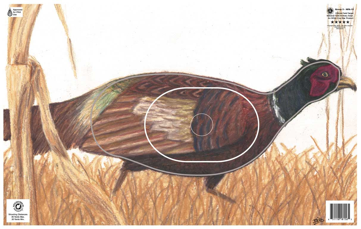 Grouse Paper Archery Target