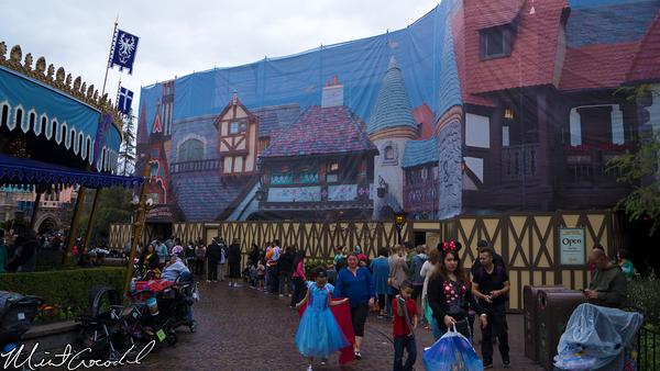Disneyland Resort, Disneyland, Pinocchio, Daring, Journey, Facade, Refurbishment, Refurbish, Refurb