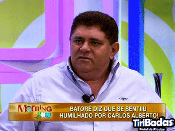 Batoré no programa Morning Show