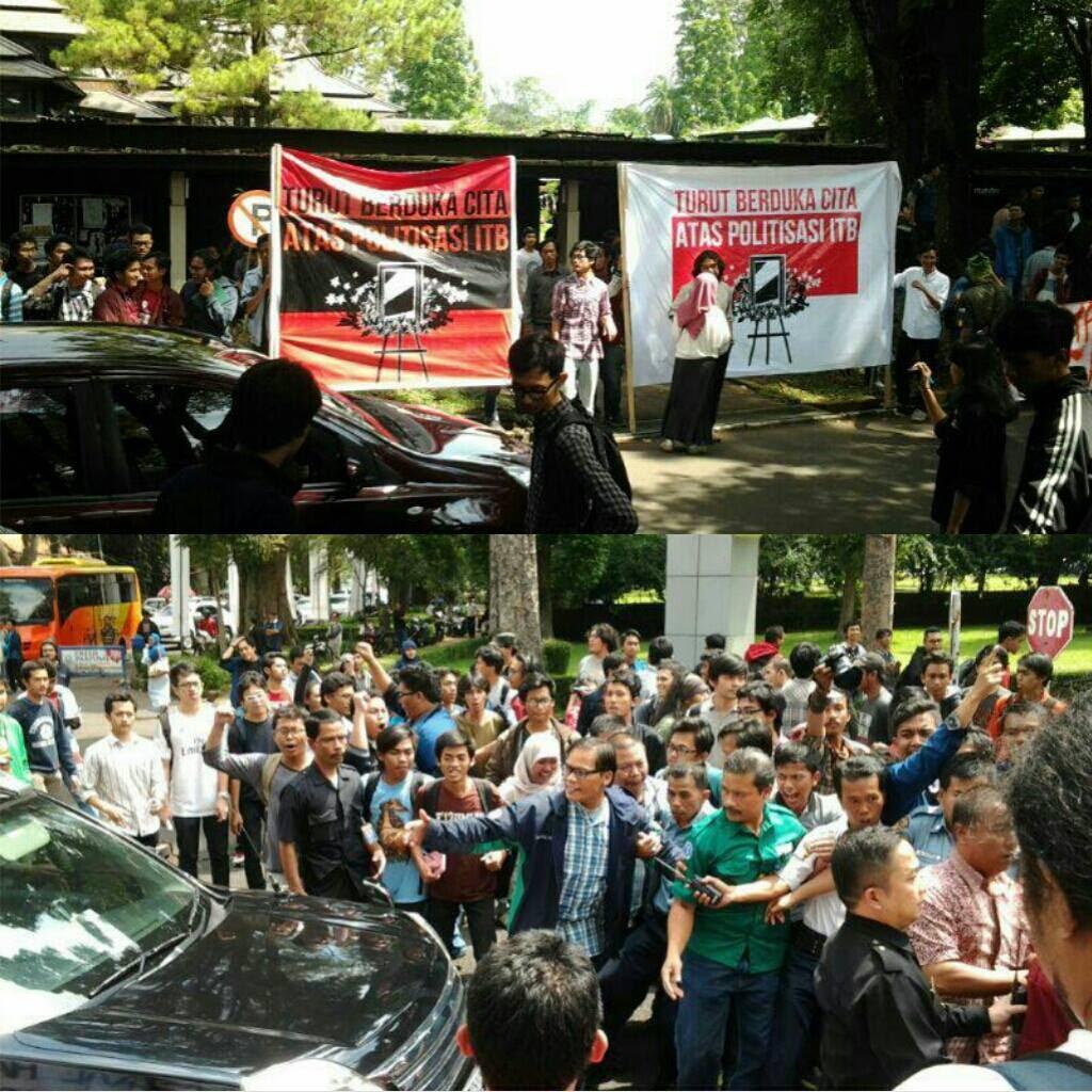 Jokowi diusir dari ITB !